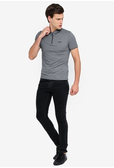 d6da242e 41% OFF Superdry City Sport Zip Polo Shirt S$ 99.00 NOW S$ 58.90 Sizes S M  L XL XXL