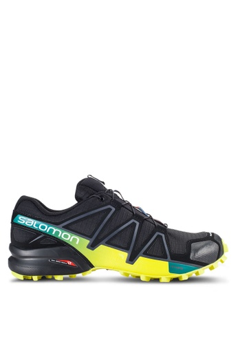 Salomon black Speedcross 4 Shoes SA438SH48WCHMY_1