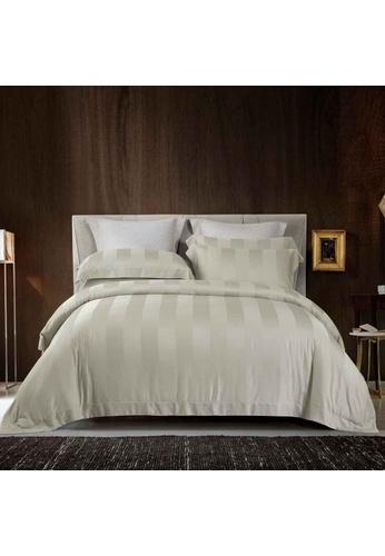 Epitex beige Cressent Dale Premium 1200TC Bamboo BD5804-2 Bedset 0F210HLC7238FFGS_1