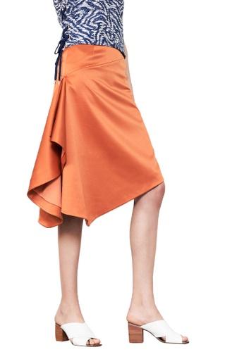 N12H orange Down to Earth Skirt N1377AA0GQJWSG_1