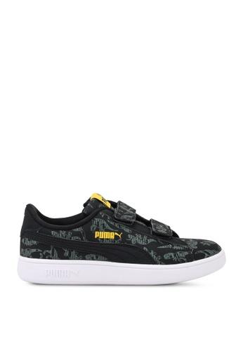 PUMA black Puma Smash v2 Archeo V PS Sneakers 0BB56KS43305E9GS_1