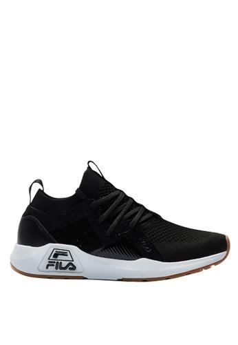 Fila black RJ-Retro Jogger Shoes 54FA7SH2ABCDAAGS_1