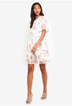 20% OFF Forever New Lori Cape Sleeve Dress HK  949.00 NOW HK  758.90 Sizes  6 8 10 12 14 e0d362082