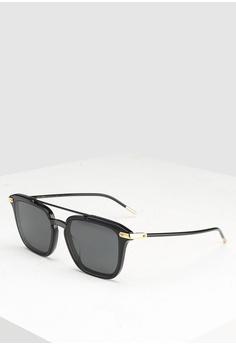 8038169db91 Dolce   Gabbana black Dolce   Gabbana DG4327F Sunglasses 77B54GL874170EGS 1