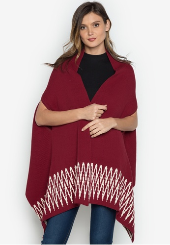 CHILL BY NOOKS red Plain Center Ikat CH191AC0K3GJPH_1