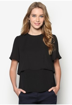 Collection Layered Woven Top