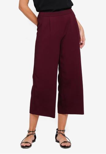 Vero Moda red Mikaela Coco Culotte Pants BD834AAFF1B1F6GS_1