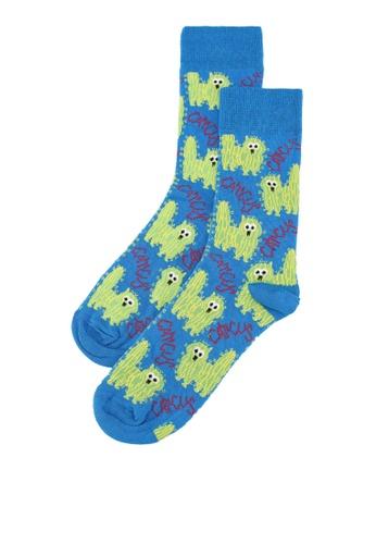 Topman blue Blue Cactus Socks 0602AAA2CEC2DBGS_1