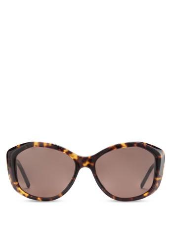 esprit outlet 高雄Gabardine 玳瑁貓眼太陽眼鏡, 飾品配件, 飾品配件