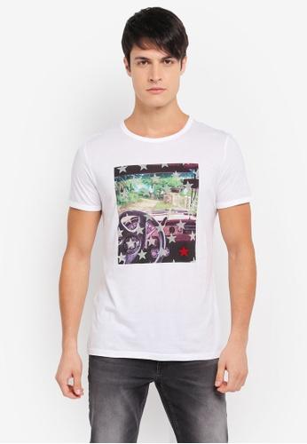 BOSS white Turbulent 2 T-Shirt - Boss Casual BO517AA0SRBHMY_1