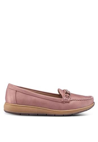 Noveni 粉紅色 金屬飾樂福鞋 83858SH0C56965GS_1