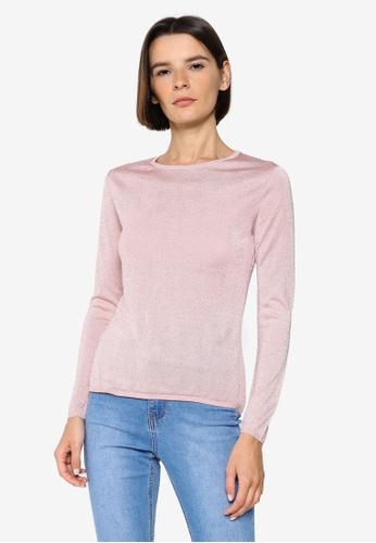 H&M pink Glittery Top 5082CAAEB7DB21GS_1
