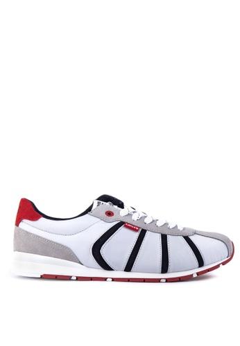 Levi's grey Almayer II Sneakers LE892SH33PSOPH_1