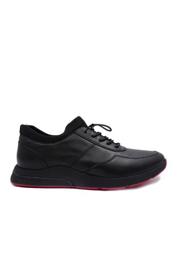Goldlion black Goldlion Premium Sport Shoes in Black (HSH502CT92S-99) 96F55SHC9DC189GS_1