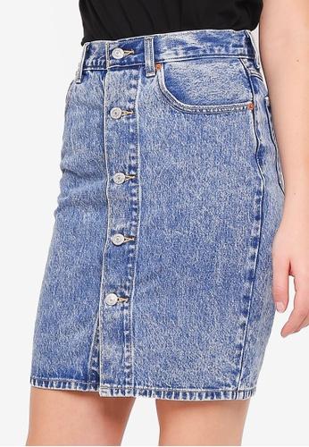 113eae4a17 Buy Levi's Button Through Midi Skirt | ZALORA HK