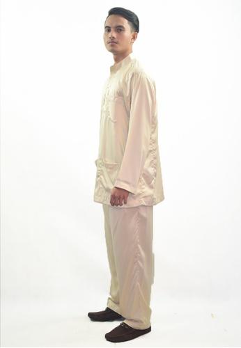 Denai Boutique brown Baju Melayu Zeid E4CA9AA0D36412GS_1