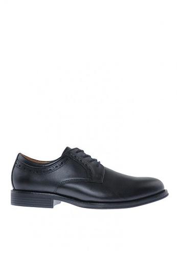 Sebago black Flume Lace Up Formal Shoes 73560SH7810761GS_1