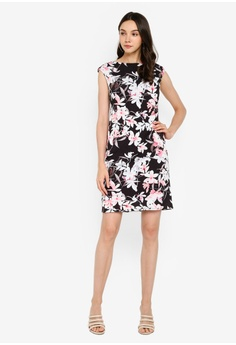 e20294db4a30 10% OFF Wallis Petite Black Floral Print Shift Dress S$ 129.00 NOW S$  115.90 Sizes 10 12 14 16
