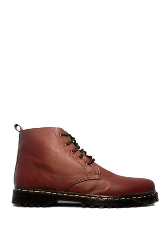D-Island brown D-Island Shoes Ladies Boots Chunky High Brown DI594SH31SIYID_1