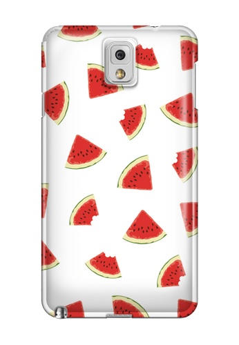 Wonder Cover white and red Watermelon Slice Glossy Hard Case for Samsung Galaxy Note 3 WO617AC07OGYPH_1