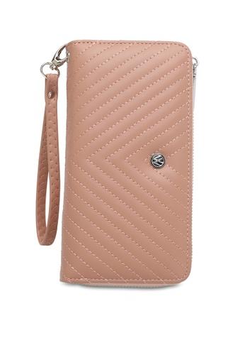 Volkswagen pink Faux Leather Long Wallet 173C0ACEC367A9GS_1