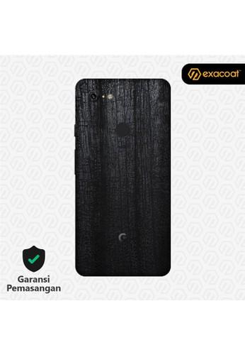 Exacoat Google Pixel 3 3M Skins Dragon Black - Cut Only D82D9ESA3648D5GS_1