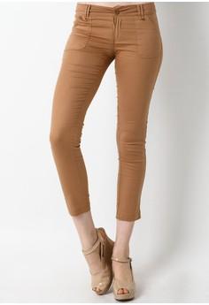 Dusty Skinny Cut Long Pants