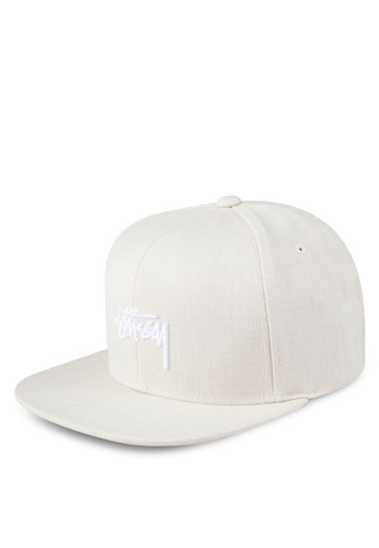 Stussy beige Stock Fa17 Cap ST135AC0ROL3MY_1