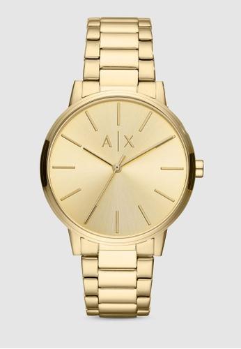 Armani Exchange gold Cayde Watch AX2707 68FA1AC83063DEGS_1