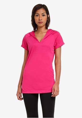 Funfit pink Hoodie T-Shirt FU839AA0S0HWMY_1