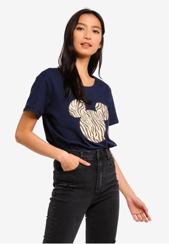 Cotton On blue Tbar Fox Graphic T-Shirt 739C1AA808538AGS_1