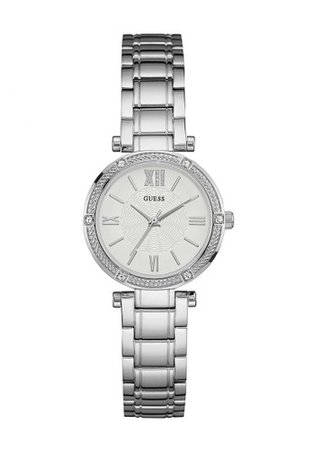 Guess Watch silver Guess Jam Tangan Wanita - Silver - Stainless Steel - W0767L1 FCC30ACB13A477GS_1