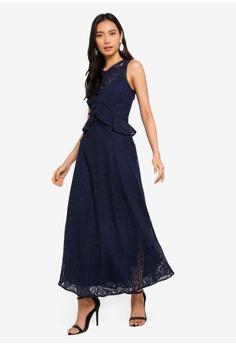 b65ce9847d 15% OFF WAREHOUSE Frill Lace Midi Dress HK  1