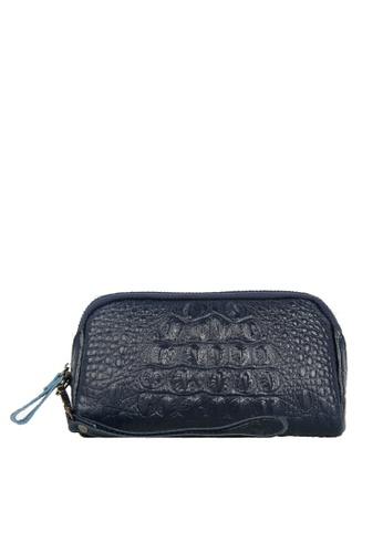 HAPPY FRIDAYS Zipper Crocodile Texture Leather Wallet JN301 7999CAC6910DA0GS_1