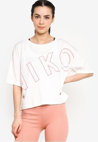 niko and ... grey Logo Short Short Cropped Tee 43E19AA1811277GS_1