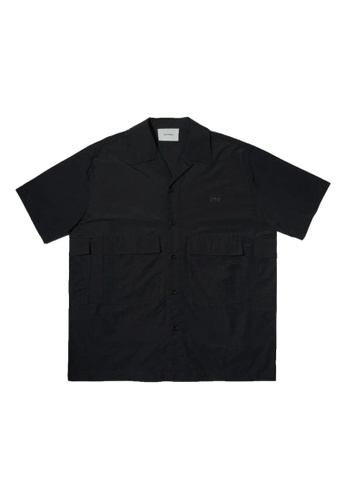 OpendiaIogue(ODE) black POCKET LYFE SHIRT F7306AAD1A0261GS_1