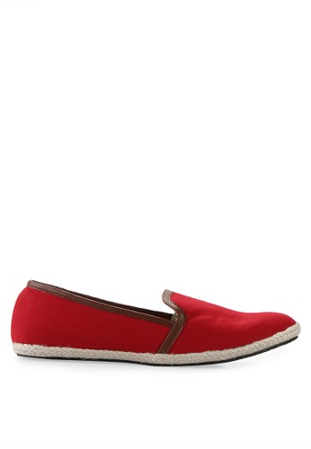 Minarno red Red Women Canvas Slip-On 001 MI641SH18QUFID_1