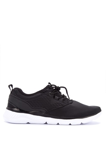 Fila black Shelter Running Shoes E30D6SH6317F6FGS_1