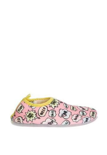 LC Waikiki pink Girl's Printed Water Shoes DD783KS2DCF0BFGS_1