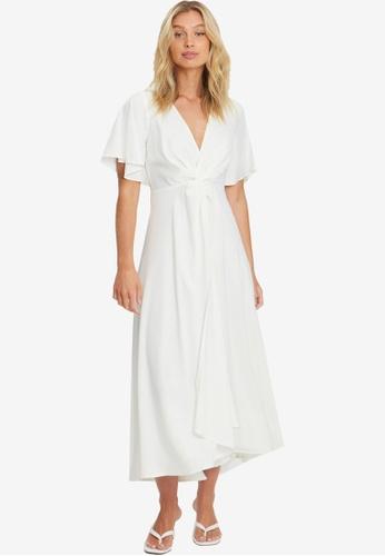 Chancery white Ava Twist Dress 2C094AA69C51D5GS_1