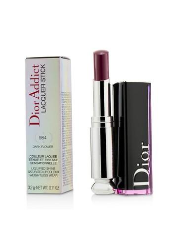 Christian Dior CHRISTIAN DIOR - Dior Addict Lacquer Stick - # 984 Dark Flower 3.2g/0.11oz DCAA0BEEA39248GS_1
