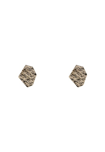 Saturation gold Shape of You Ear Studs C681BAC96B2F69GS_1