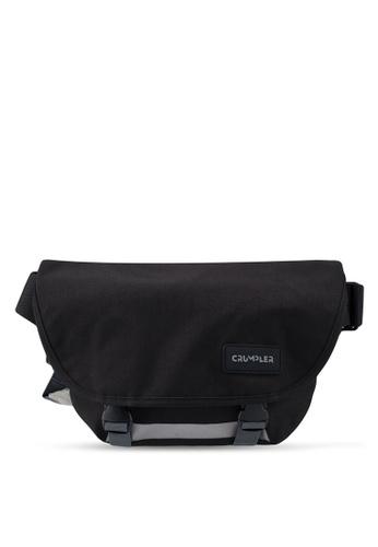 CRUMPLER black Comfort Zone Small Messenger Bag 88965ACBB8F071GS_1