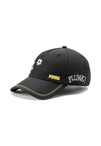 Puma black PUMA x PEANUTS Youth Baseball Cap 0FB31KC491F3C4GS_1