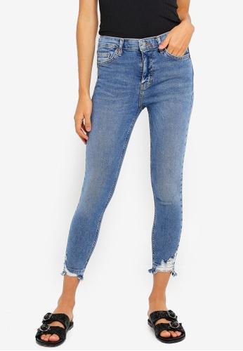 TOPSHOP Mid Blue Jamie Jeans