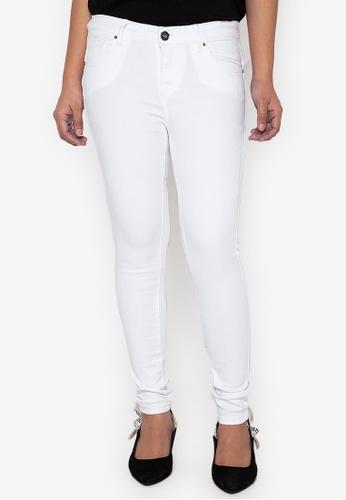 No Apologies white Colored Long Pants Slimfit Ladies CF169AAE5F3169GS_1