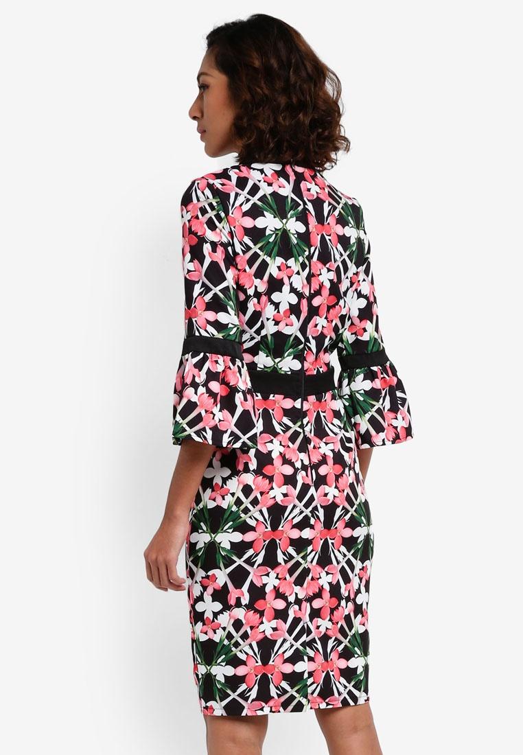 Floral Dolls Paper Mini Bloom Print Dress q8xqOCvw