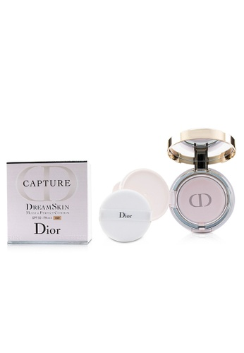 christian dior CHRISTIAN DIOR - Capture Dreamskin Moist & Perfect Cushion SPF 50 With Extra Refill - # 030 (Medium Beige 2x15g/0.5oz 695B0BEB901DDFGS_1
