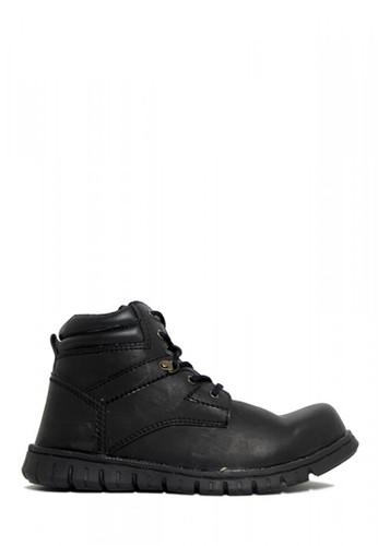 D-Island black D-Island Shoes Safety Boots High Urban Black 7035FSHB52D76FGS_1