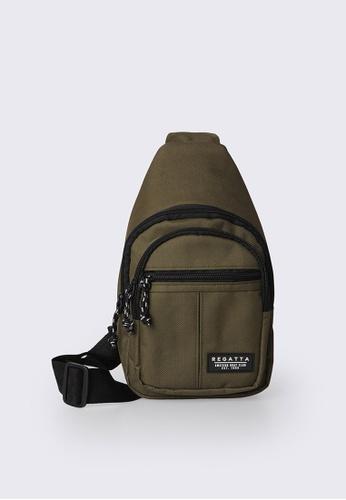 REGATTA green Crossbody Bag 5FDC1AC318750EGS_1